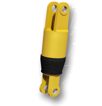 Typical SMR Hydrostrut